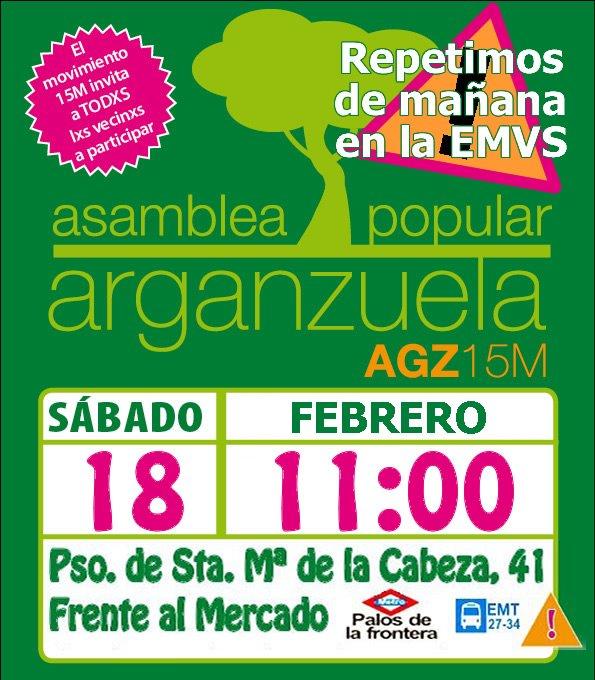 XXXIV Asamblea Popular de Arganzuela
